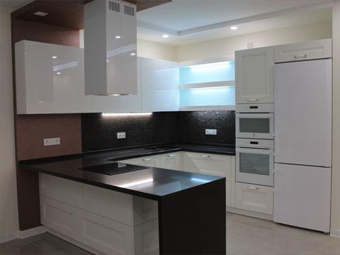 кухни мебельная плита МДФ с покраской